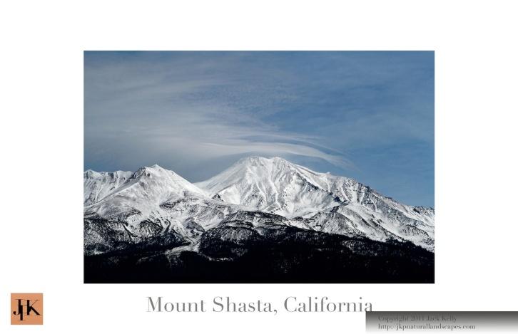 Mount Shasta 11x17 Poster 2