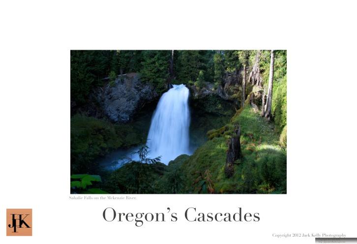 Oregon Cascades 13 x 19 poster 8