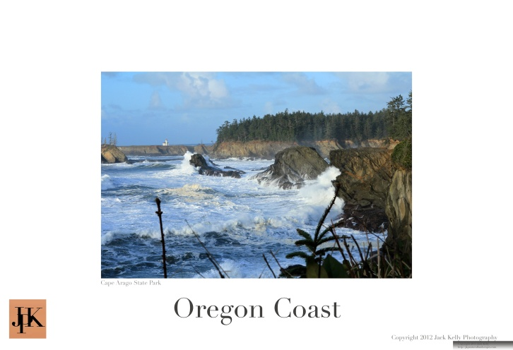 Oregon Coast 13 x 19 poster 9