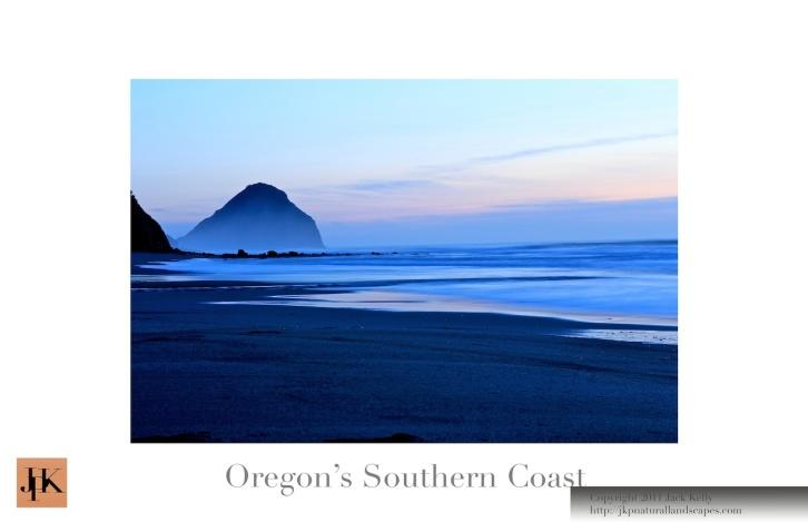 Oregon's S. Coast 11x17 Poster 3