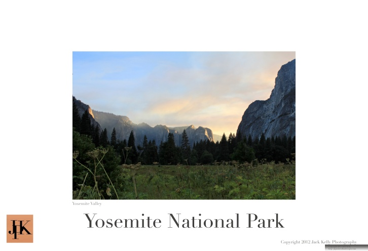 Yosemite Valley 13 x 19 poster 11