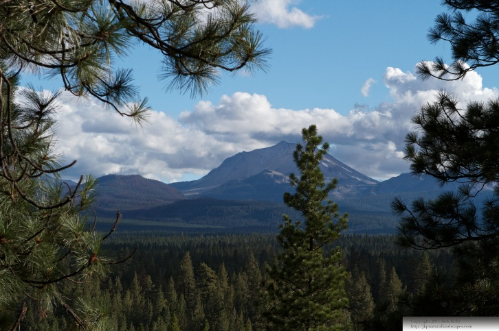 Mt. Lassen from Hat Creek